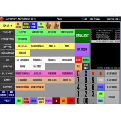 """Kassesystem Touch 15,6"""" inkl. Bordstyring og Lagerstyring sælges uden abonnement"""