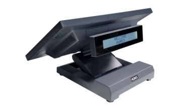 """Kasseterminal 15,6"""" Windows Licensfri Lager & Bordstyring Programmeret 80 mm Bonprinter. Få tilbud"""